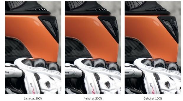Beispielaufnahmen mit der  Multi-Shot Funktion (Bild: Hasselblad)