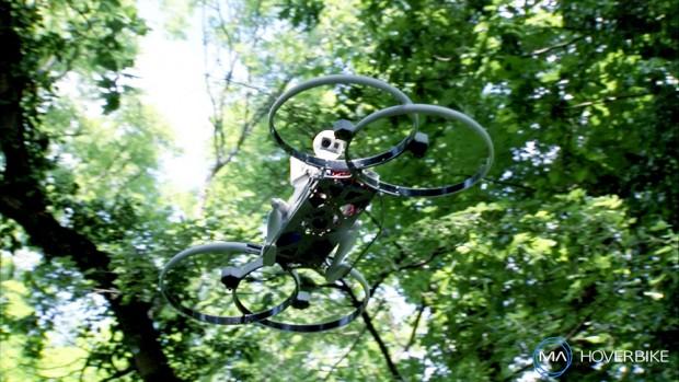 Durch den Wald von Endor mit dem Hoverbike? (Bild: Kickstarter)