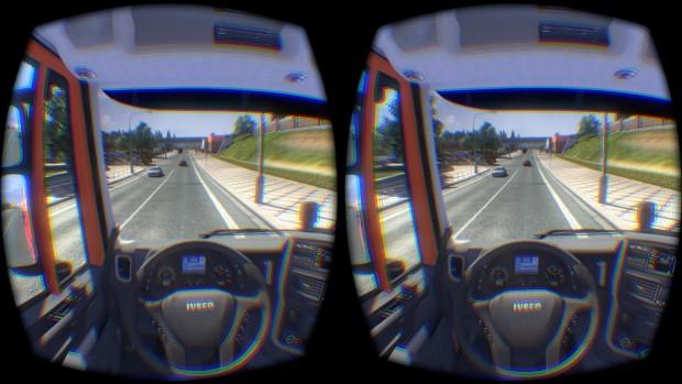 Euro Truck Simulator 2 (Screenshot: Marc Sauter/Golem.de)