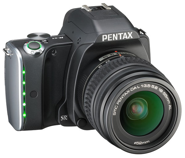 Pentax K-S1: Spiegelreflexkamera mit Lichtorgel - Pentax K-S1 (Bild: Ricoh)