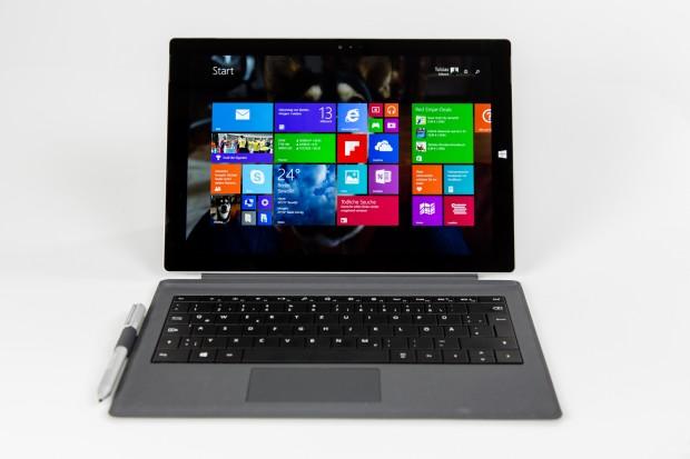 Das Surface Pro 3 von Microsoft (Bild: Tobias Költzsch/Golem.de)