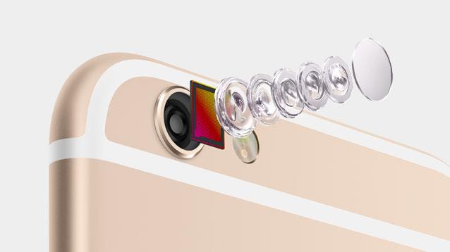 iPhone 6 und iPhone 6 Plus: Apple nennt Verkaufsrekord für neue iPhone-Modelle - Der Aufbau der Kamera des iPhone 6 Plus (Bild: Apple)