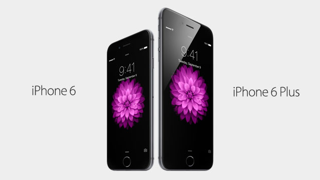 Vergrößerte Displays und NFC: Apple stellt iPhone 6 und iPhone 6 Plus vor - Das iPhone 6 und 6 Plus (Bild: Apple)
