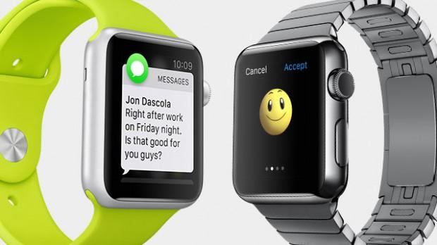 Unterschiedliche Armbänder der Apple Watch (Bild: Apple)
