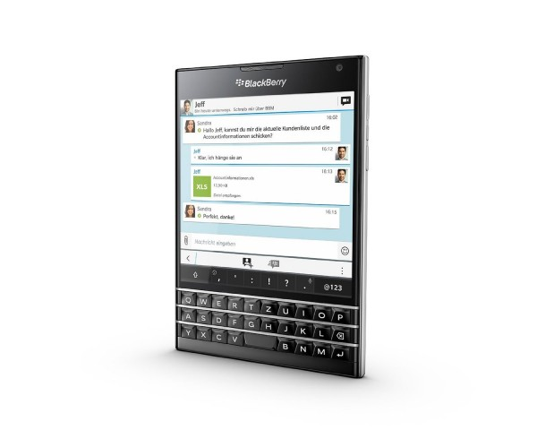 Das neue Blackberry Passport (Bild: Blackberry)