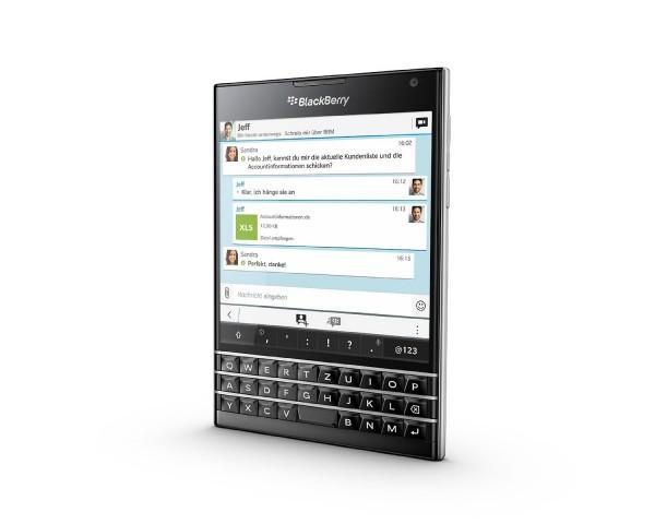 Das neue Blackberry Passport (Bild: Blackberry)
