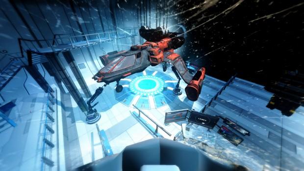 Darkfield VR (Screenshot: Marc Sauter/Golem.de)