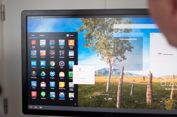Dell Cast mit einem Venue 8 7000 im Betrieb (Foto: Andreas Sebayang/Golem.de)