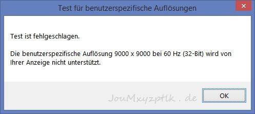 PC-Spiele mit 4K, 5K, 6K: So klappt's mit Downsampling - (Screenshot: Joachim Otahal)