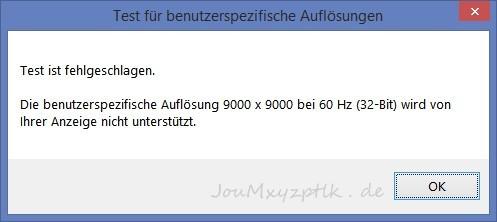 (Screenshot: Joachim Otahal)