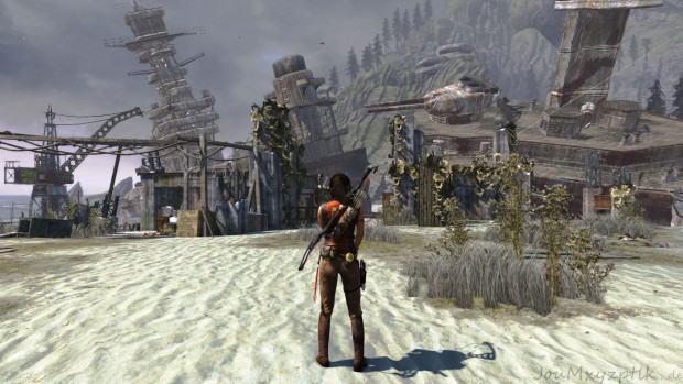 Tomb Raider mit Ultimate-Details in Full-HD ist schön, aber... (Screenshot: Joachim Otahal)