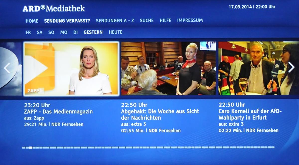 Streaming-Box im Kurztest: Fire TV läuft jetzt mit deutschen Amazon-Konten - Das Fire TV spricht jetzt Deutsch. (Foto: Nico Ernst/Golem.de)