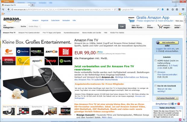 Das Angebot weist am 4. September 2014 nicht mehr auf den Rabatt hin, aber.... (Screenshot: Golem.de)