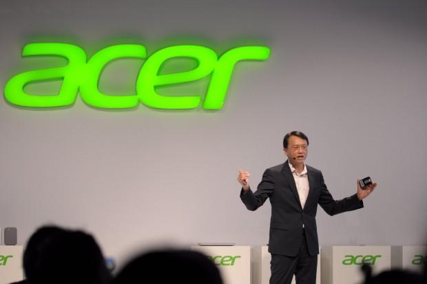 Acers Chef zeigte auf der Ifa Neuheiten des Konzerns. (Foto: Andreas Sebayang/Golem.de)