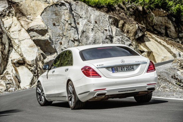 Mercedes Benz S 500 Plug-in Hybrid (Bild: Mercedes Benz)