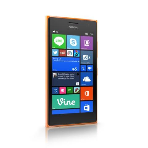 Das neue Lumia 735 von Microsoft (Bild: Microsoft)