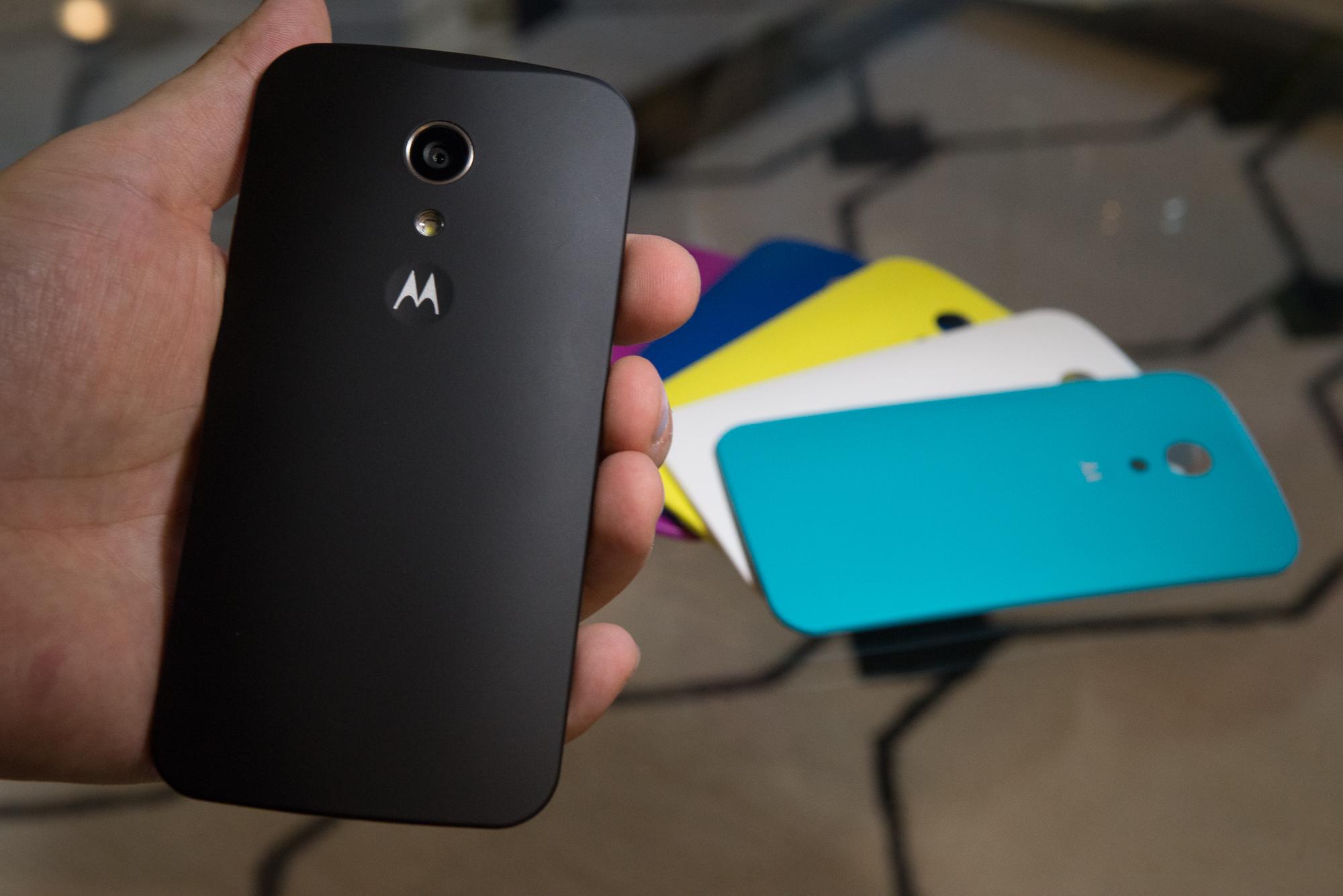 Neues Moto G im Hands On: Mach's noch einmal, Motorola - Motorolas neues Moto G (Bild: Fabian Hamacher/Golem.de)