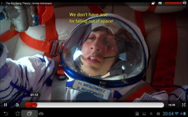 Rücksturz zur Erde: Kein Streaming-Anbieter ist perfekt. (Screenshot: Golem.de)