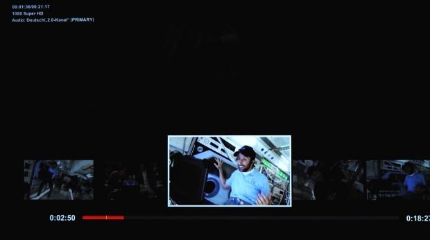 Auf der PS3 kann Netflix mit Vorschaubildern spulen. (Foto: Golem.de)