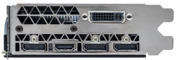Dreimal DP, einmal DVI und das neue HDMI 2.0. (Bild: Nvidia)