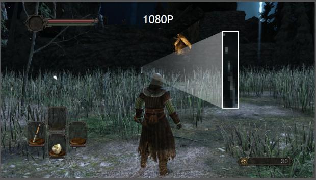 Das selbe Bild in FullHD ohne...(Folien: Nvidia)