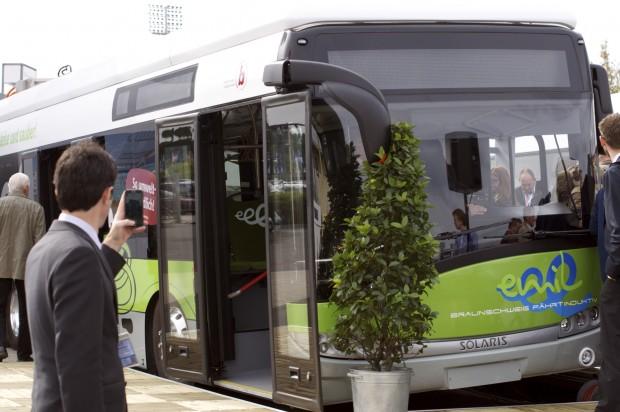 Braunschweig bekommt bald neue Induktionsbusse. (Foto: Andreas Sebayang/Golem.de)