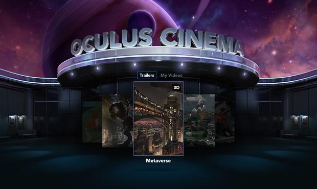 Oculus Cinema (Screenshot: Oculus VR)