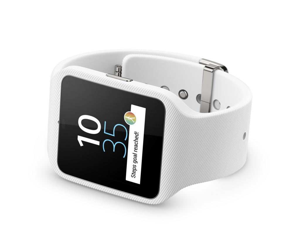 Armbanduhr mit GPS-Empfänger: Sonys erste Smartwatch mit Android Wear - Smartwatch mit Android Wear (Bild: Sony)