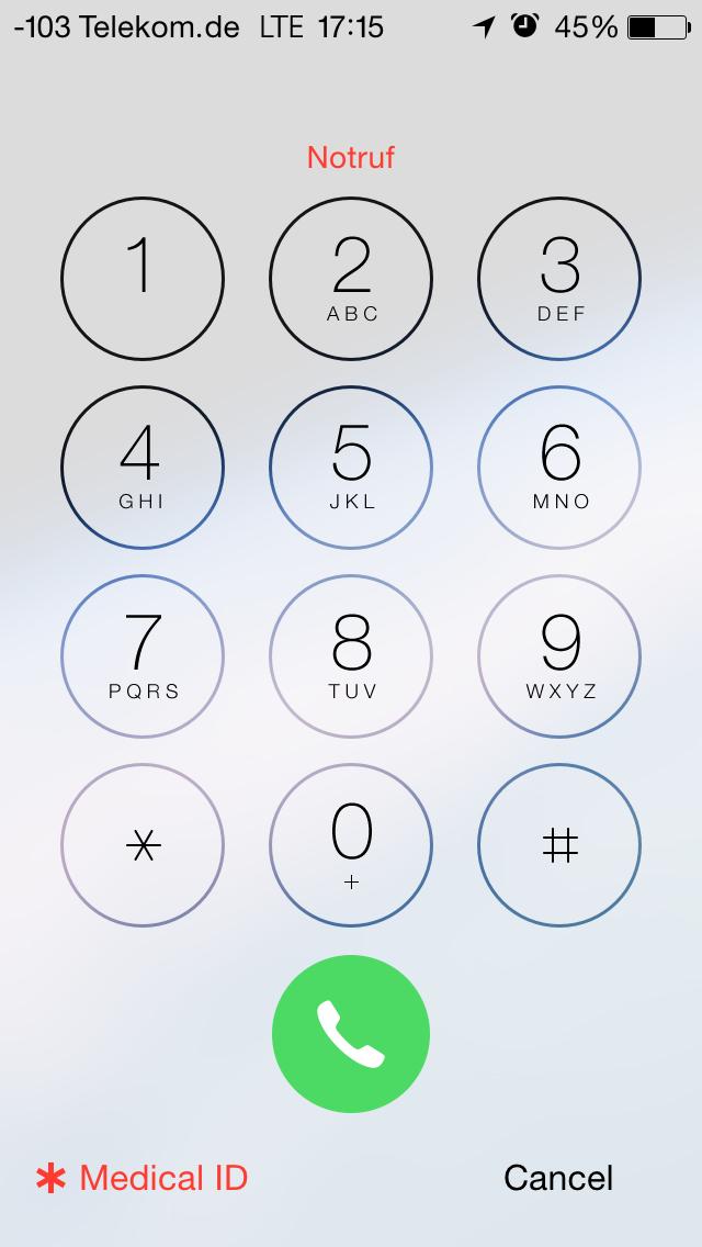 Apples iOS 8 im Test: Das mittelmäßigste Release aller Zeiten - Der Bildschirm ist gesperrt ... (Screenshot: Golem.de)