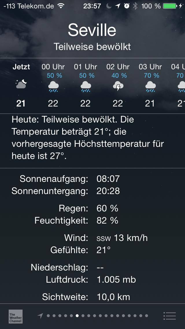 Apples iOS 8 im Test: Das mittelmäßigste Release aller Zeiten - ... stellt jetzt mehr Informationen dar. (Screenshot: Golem.de)