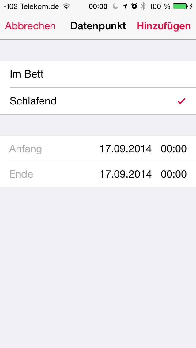 Apples iOS 8 im Test: Das mittelmäßigste Release aller Zeiten - ..., sofern der Zeitrahmen passt.(Screenshot: Golem.de)