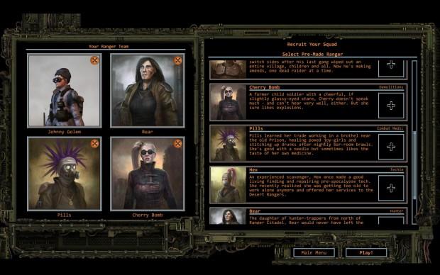 Die Hauptgruppe besteht aus vier Helden. (Screenshot: Golem.de)