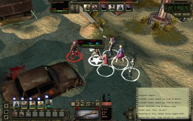 Bei längeren Reisen drohen Banditenüberfälle. (Screenshot: Golem.de)