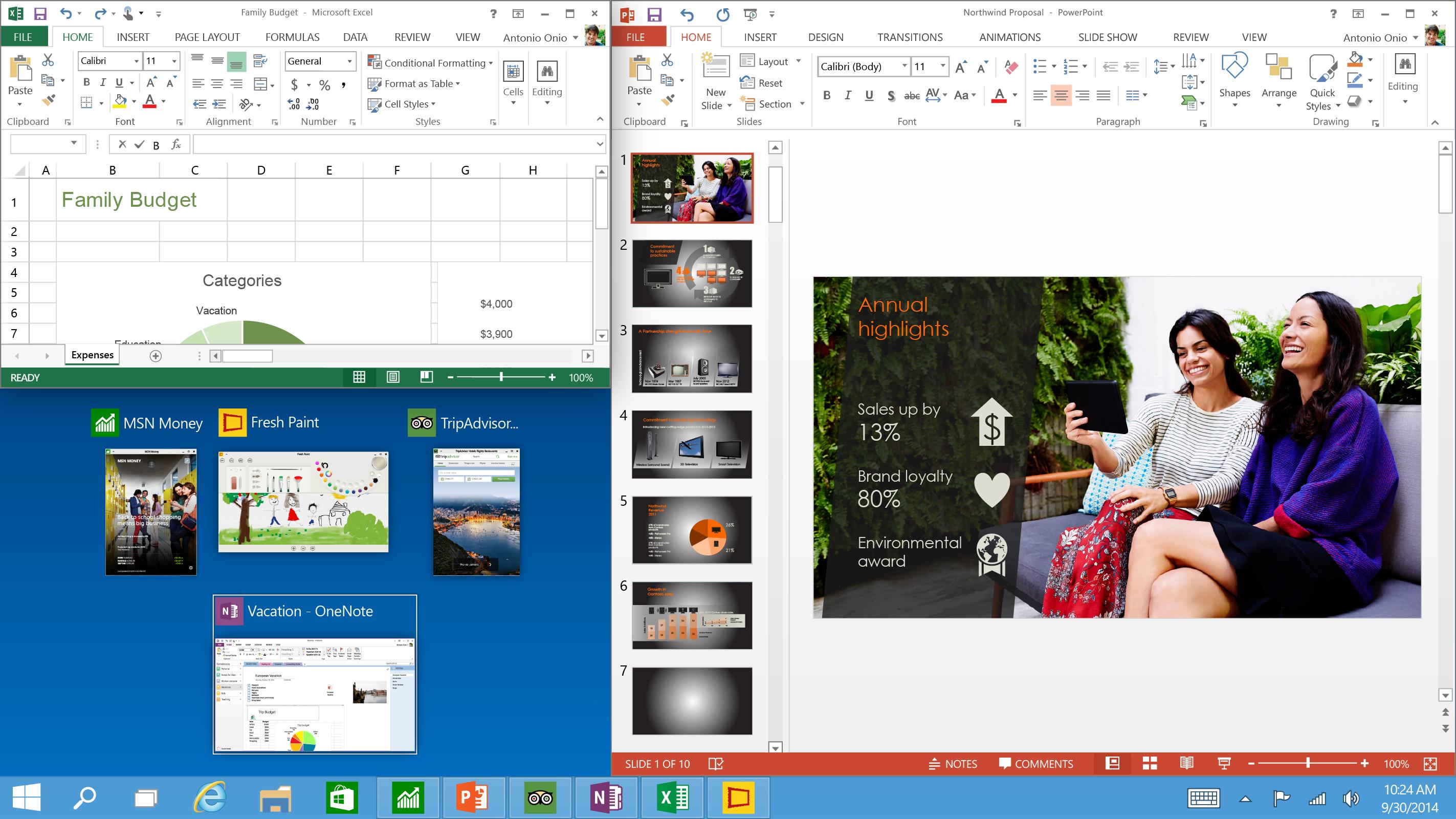 Microsofts neues Betriebssystem: Auf Windows 8 folgt Windows 10 mit Startmenü -
