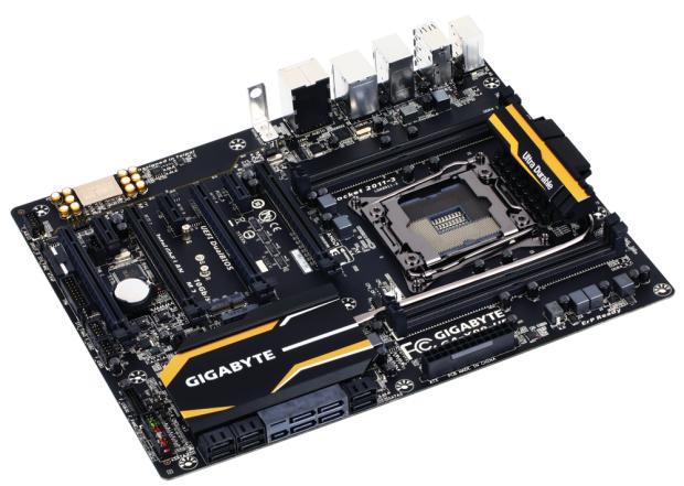 Das Gigabyte GA-X99-UD3 ist eines der günstigeren Boards. (Bild: Gigabyte)
