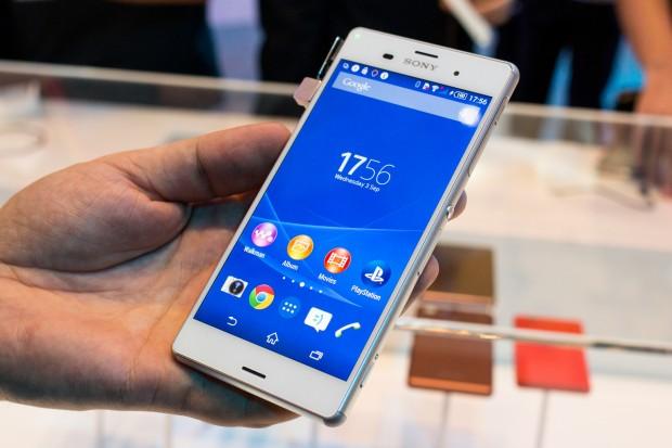 Sonys neues Topsmartphone Xperia Z3 (Bild: Michael Wieczorek/Golem.de)