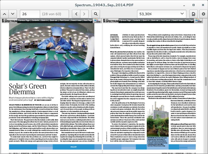 Linux-Desktop: Gnome 3.14 erhält Multitouch-Funktionen -
