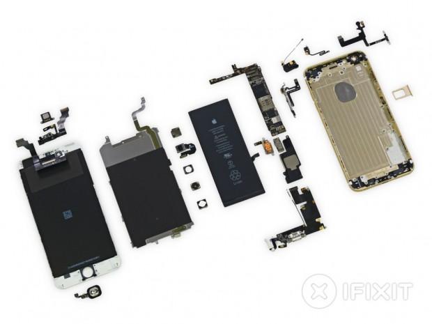 iFixit zerlegt iPhone 6 Plus. (Bild: iFixit)