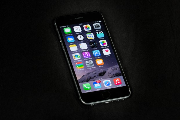 Das neue iPhone 6 von Apple (Bild: Tobias Költzsch/Golem.de)