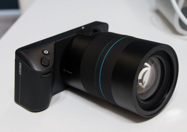 Es ist die zweite Lichtfeldkamera, die das kalifornische Unternehmen entwickelt hat. (Foto: Werner Pluta/Golem.de)