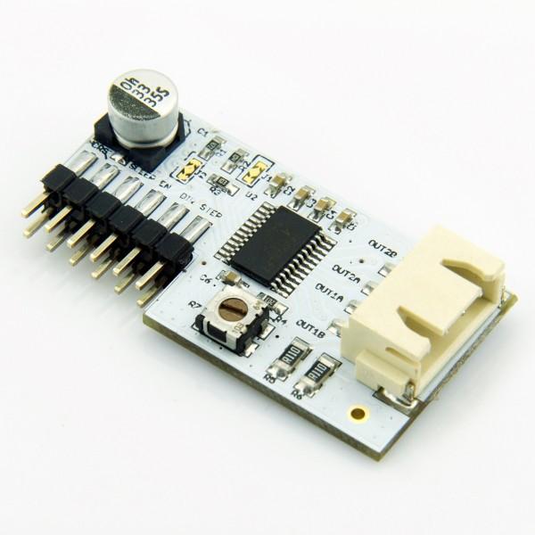 Microduino: Kleine Bastlerboards zum Stapeln - Die Motortreiber-Module weichen vom Layout ab. (Foto: Microduino Studio)