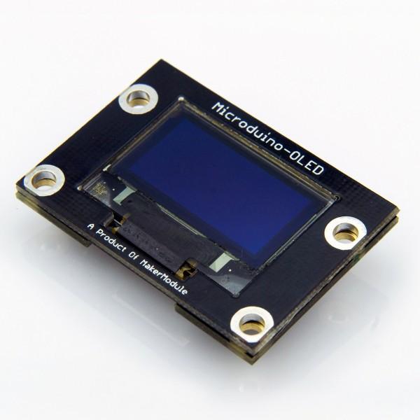 Microduino: Kleine Bastlerboards zum Stapeln - OLED-Displaymodul (Foto: Microduino Studio)