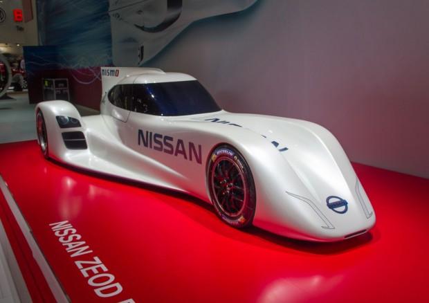 Nissan trat 2014 in Le Mans mit einem experimentellen Auto an - dem Zeod RC, hier auf der IAA 2013 in Frankfurt. (Foto: Werner Pluta/Golem.de)