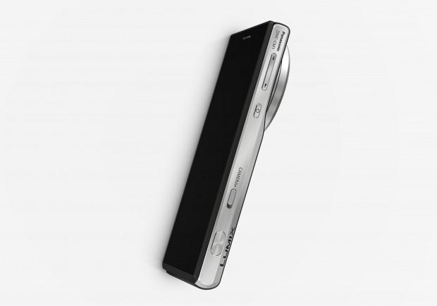 Panasonic CM1 mit eingefahrenem Objektiv (Bild: Panasonic)