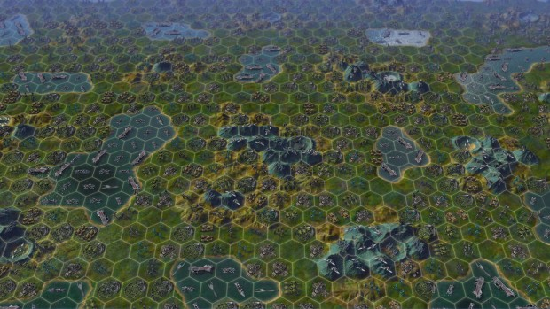"Der ""Late Game""-Benchmark aus Civ Beyond Earth (Screenshot: Marc Sauter/Golem.de)"