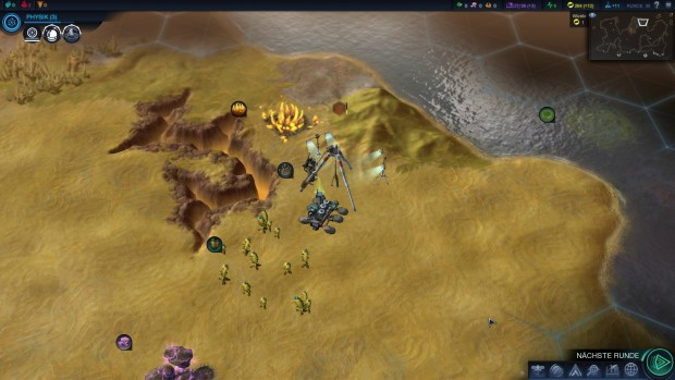 Wir starten eine Expedition in Civilization: Beyond Earth.