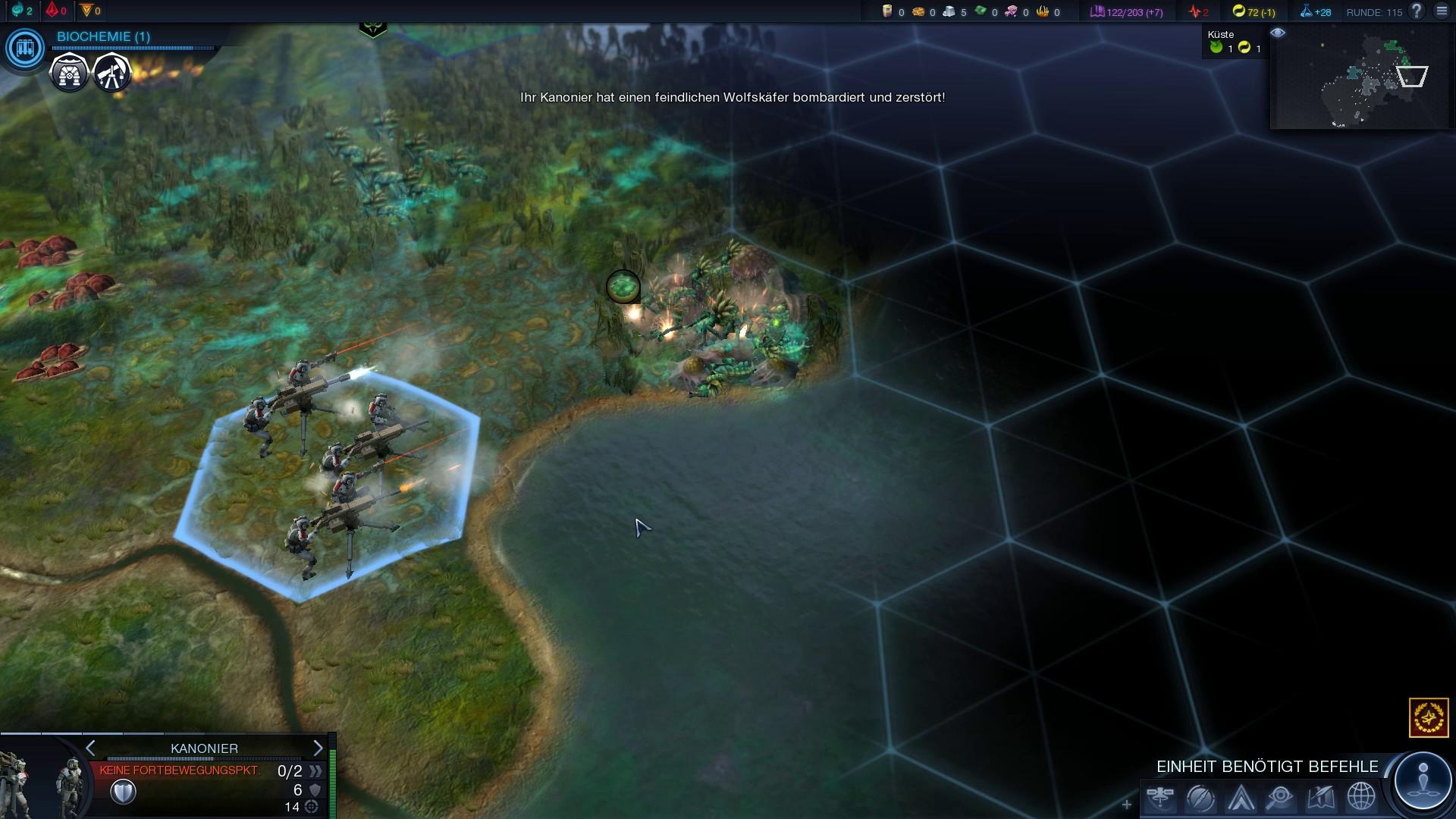 Test Civilization Beyond Earth: Die Zukunftsrunde mit der Schuldenfalle - Wir nehmen ein paar Aliens aufs Korn.