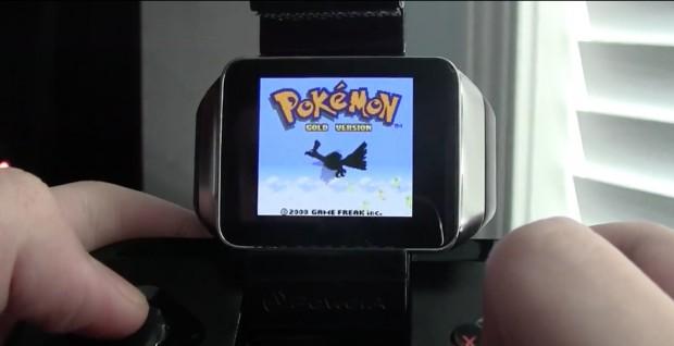 Game-Boy-Spiele auf der Samsung Gear Live (Bild: Corbin Davenport/ Screenshot: Golem.de)