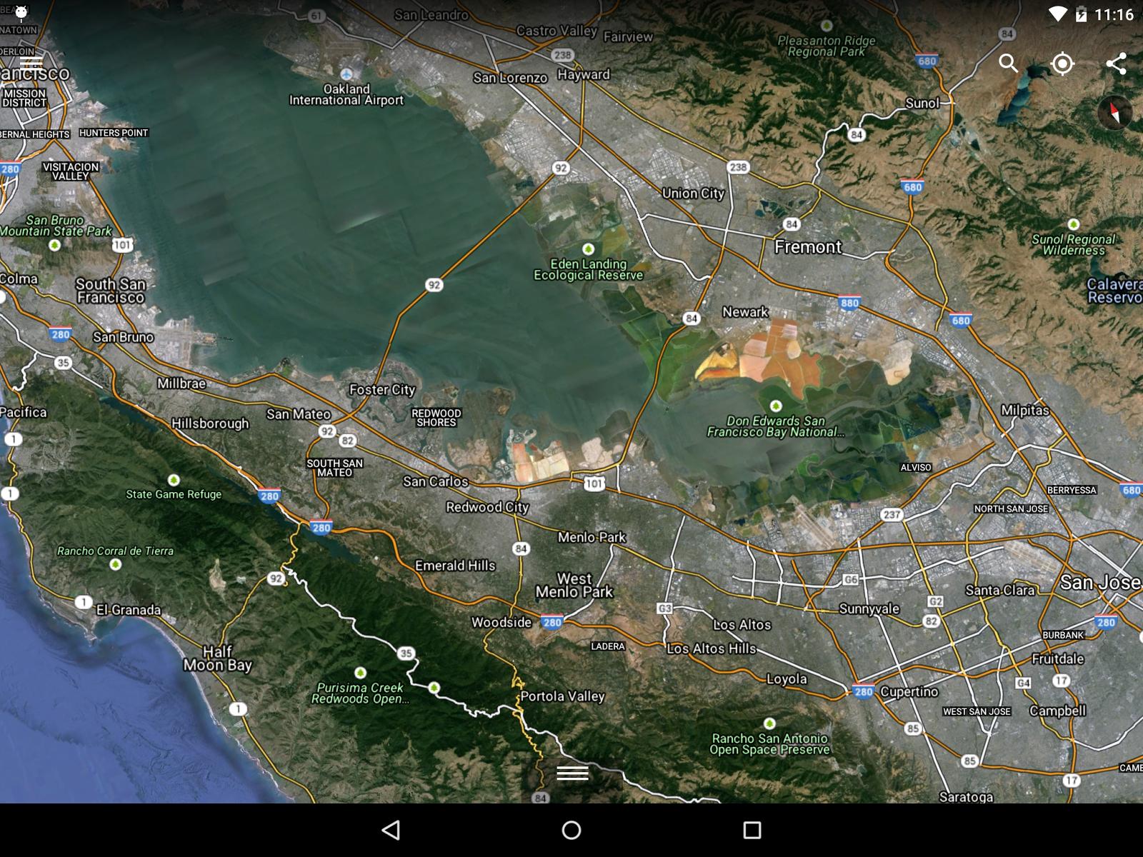 Android: Großes Update für Google Earth mit neuer 3D-Engine -