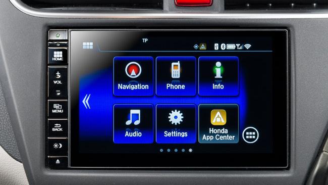 Honda Connect: Nvidias Tegra fährt mit Android in Japan - Das Infotainment-Display (Bild: Honda)